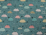"Baumwollstoff ""Regenschirme"""