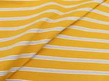 """Jersey """"Streifen retro gelb weiß grau"""""""