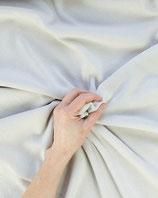 Bekleidungsstoff Strick 346 weiß Uni