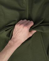 Jersey Stoff olivgrün uni