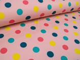 "Softshell ""rosa mit bunten Punkten"""