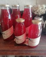 Holunderblütensirup + Rosensirup 0,5 Liter Flasche