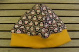WENDE-BEANIE-Mützemit Pinguinli ca. GRÖSSE 62