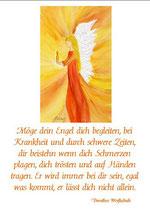 Möge dein Engel dich begleiten
