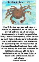 Krebs ( 22. Juni - 22. Juli )