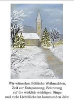 Wir wünschen fröhliche Weihnachten