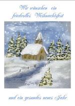 Wir wünschen ein friedvolles Weihnachtsfest