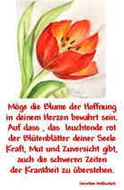Möge die Blume der Hoffnung