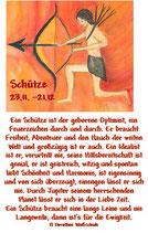 Schütze ( 23. November - 21. Dezember)