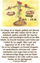 Waage ( 24. September - 23. Oktober )