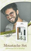 Moustache Set – Hochwertiges Set zur Bartpflege