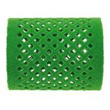 Metallwickler beflockt, 50mm, grün