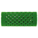 Metallwickler beflockt, 24mm, grün