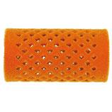 Metallwickler beflockt, 32mm, orange