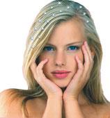 Haar-Diamanten, Edelsteine SMAL 1 Reihe