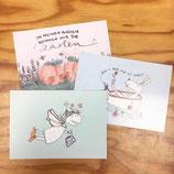 Postkartenset 'Umgekrempelt-Grüße'