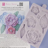 Karen Davies Crochet Flower & Leaf Mould