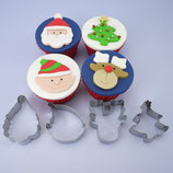 Christmas Cookie Cutters  - 4er Set