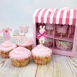 Baby Cupcake Kit rosa