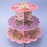 Blumen Feen Cupcake Ständer