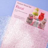 Floral Prägnurset - 6er Set