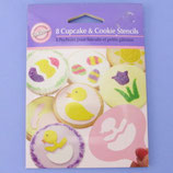 Oster Cupcake & Cookie Stencils Set