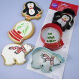 Wilton Winter Cookie Set 3er Set