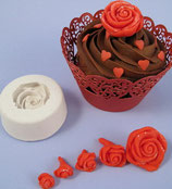 Squires Kitchen Rose Mould