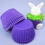 Cupcakes Förmchen lila - 60 Stück