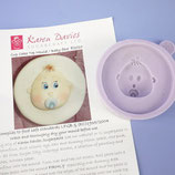 Karen Davies Baby Gesicht Mould