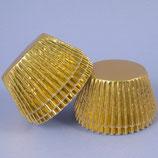 Cupcakes Förmchen gold -  36 Stück