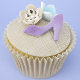 Cupcakes Förmchen ivory - 60 Stück
