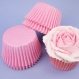 Cupcakes Förmchen pink - 60 Stück