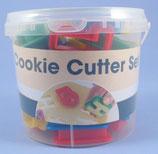 Cookie Alphabet & Zahlen Ausstecher Set farbig