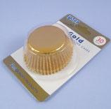 PME, mini alu Cupcakes Förmchen gold