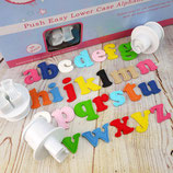 Cake Star Alphabet Ausstecher Kleinbuchstaben