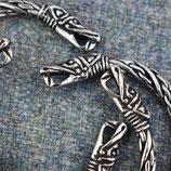Armband klein pewter draak
