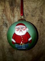 Kerstman kerstbal.