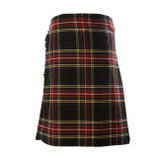 Kilt 8 yrd Royal stewart black