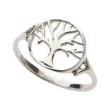 Ring zilver Levensboom