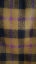 Highland plaid ca. 5m stof