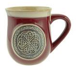 Beker keltische knoop rood