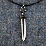 Hanger pewter viking sword