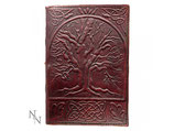 Notitieboek leer Tree of Life