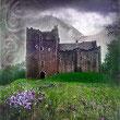 Dubbele wenskaart Doune Castle