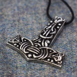 Hanger pewter Faroese Thor's hammer