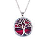 Hanger verzilverd Tree of life Heathergems