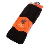 Kilt sokken 50% wol, zwart