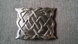 Kilt belt buckle serpent antique