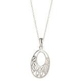Hanger zilver keltische knoop